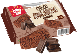 Choco Avalanche Cookies